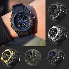 Sanda Men Digital Wrist Watches LED Military Army Sport Waterproof Watch