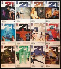21 Down #1-12 COMPLETE SERIES SET Wildstorm Comics 2002 Palmiotti Rumored Option