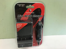 New AC and DC Car Charger for Konica Minolta NP-1 NP1 DiMAGE X1