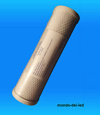Filtro Carbone Attivo CTO Depuratore Addolcitore Acqua 10'' LX-003A (SIGILLATI)