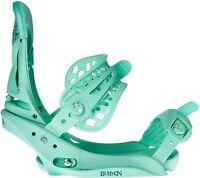NEW BURTON LEXA EST Snowboard Binding - Teal Deal - Women's Size Large