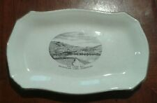 Vintaga Kalamalka Lake, Vernon, BC.~THE LOOK OUT DISH~Extremely Rare