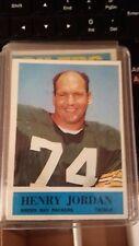 1964 Philadelphia # 75 Henry Jordan