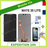 VITRE TACTILE + ECRAN LCD PRET-A-MONTER POUR HUAWEI MATE 20 LITE NOIR + OUTILS