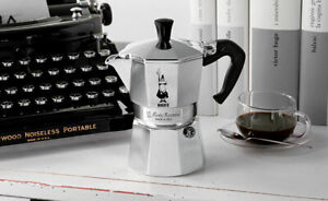 CAFFETTIERA MOKA BIALETTI RESTYLING CAFFE' 1/2 1-2-3-6-9-12 TAZZE MADE IN ITALY