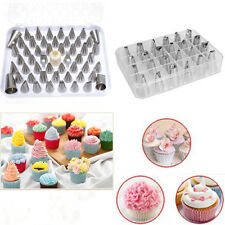 24Pcs Icing Piping Nozzles Pastry Tips Fondant Cake Sugarcraft Decor Tools Set