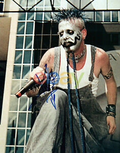 Chad Gray Mudvayne Kud Concert Singer Signed 8x10 Photo Autographed reprint