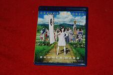 SUMMER WARS 1 BLU-RAY DISC MOVIE FUNIMATION ANIME FILM BLURAY