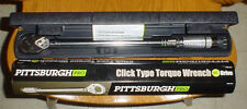 "Pittsburgh Pro 1/2"" Clicker Type Torque Wrench - 20 thru 150 ft. lbs. Brand-New!"