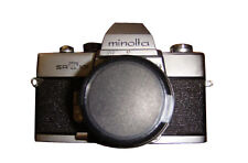 Minolta SRT 101 V1B SLR 35mm Film Body Chrome With Pinhole Attachment