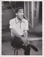 "Original 1957 Sammy Davis Jr ""Rat Pack"" News Photograph"