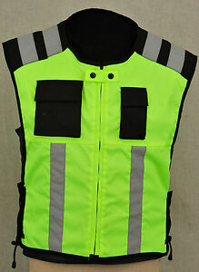Motorbike Motorcycle Hivis Vest Waistcost Hi vis Hiviz Motocross Hi viz Jacket
