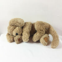 "A121 Vintage Gund Muttsy Puppy Dog 1362 Plush 18"" Stuffed Toy Lovey"