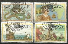 Südwestafrika-Namibia 1982 Bartholomeo Diaz gestempelt Mi.Nr. 520-523