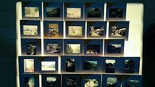 Collectable Contemporary Photographic Image Slides with Topographical Theme