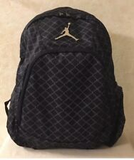 a6f524503935 Nike Air Jordan Backpack Laptop Sleeves Side Pockets Black 9A1115-023