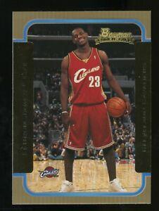 2003-04 Bowman Gold #123 LeBron James Cleveland Cavaliers RC Rookie