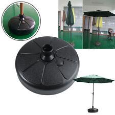 38cm Plastic Parasol Outdoor Round Umbrella Base Stand Holder Beach Garden