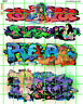 6057 DAVE'S DECALS BOXCAR SEXY WOMEN GIRLS URBAN WALL GRAFFITI  HO SCALE 1:87