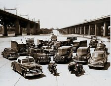 RARE STILL NYPD CARS AND EQUIPMENT