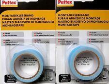 50kg Super Stark Pattex doppelseitiges Montageklebeband Montageband Klebeband OM