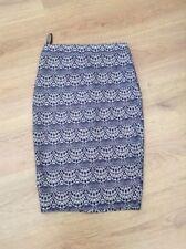 Warehouse Knee Length Polyester Skirts for Women