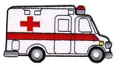bb67 Rettungswagen Krankenwagen Rotes Kreuz Aufnäher Bügelbild Auto Applikation