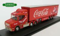 BNIB N GAUGE OXFORD 1:148 NTCAB007CC Scania T Cab Coca Cola Christmas Lorry