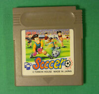 Soccer (Nintendo Game Boy GB, 1991) Japan Import