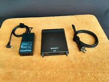 Sony Sbac-Us10 SxS Memory Card Usb Reader/Writer with Power supply