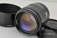 MINOLTA AF 100mm F2 Lens for Sony Minolta Alpha Mount with Hood #170925d