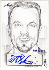 2014 POP CENTURY STEVE STANLEY SKETCH AUTO: ADAM BALDWIN #1/1 OF ONE AUTOGRAPH