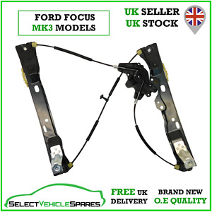 NEW FORD FOCUS MK3 PASSENGER LEFT FRONT WINDOW REGULATOR (NO MOTOR) 2012-2018