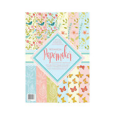 Pk 12 x A4 SAMPLE Paper Maker *Botanical* papers for cards and crafts