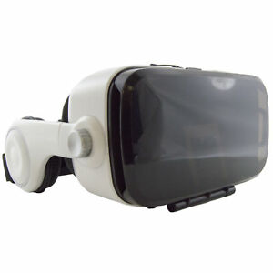 """3D VR Headset with Stereo Headphones for all 4.7"""" to 6.2"""" Smartphones"""