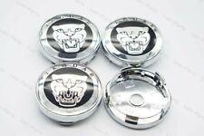 4Pcs 60mm Car Wheel Center Hub Caps Badge Emblem Rim Dust Cover Logo for JAGUAR
