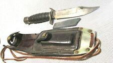 Camillus Vietnam War Us Pilot Survival Fighting Knife, 2-1971