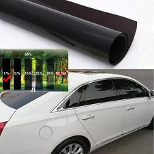 Universal 50cmx3m 1% VLT Black Pro Car Home Glass Window TINT TINTING Film Roll