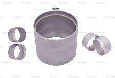 Quality 100 mm Aluminium 2 Part Mould Rings Delft Clay Peterobond Sand Casting