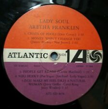 ARETHA FRANKLIN - Lady Soul   LP in plastic sleeve, NO COVER   1968 Atlantic GER