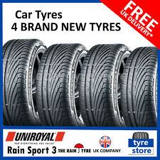 4X New 205 40 17 Uniroyal Rainsport 3 84Y XL 205/40R17 2054017 (4 TYRES)