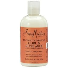 Shea Moisture Coconut - Hibiscus Curl - Style Conditioning Milk 8 oz