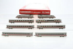 N Fleischmann 93 7440 ICE Amtrak 401 Elektrolok E-Lok Elok analog OVP/J44