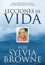 Lecciones De Vida Por Sylvia Browne, Browne, Sylvia, Good Condition, Book
