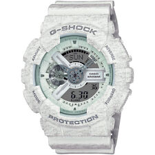 Casio G-Shock Mens Wrist Watch GA110HT-7A GA-110HT-7A Digi-Analog Heather White