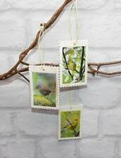 3 wunderschöne Vogelbilder Bilder Hängedeko Deko Vogel Shabby Landhaus Holz