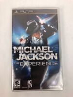 MICHAEL JACKSON THE EXPERIENCE PSP FACTORY SEALED!!! Fast Shipping