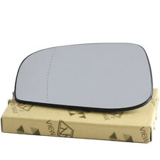 X AUTOHAUX Mirror Glass Heated with Backing Plate Driver Side Left Side Rear View Mirror Glass for 2004-2006 VOLVO S60 S80