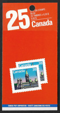 Canada - Booklet Pane of 10 in Cover - Houses of Parliament #1165a (BK101b) MNH