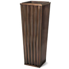 GAR546L Large Tall H Potter Outdoor Indoor Planter - Patio Deck Garden Gift
